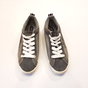 🍓 3/$20 Tommy Hilfiger Gray Anna Lace Up Sneakers